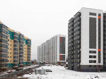 Два 12-этажных жилых корпуса